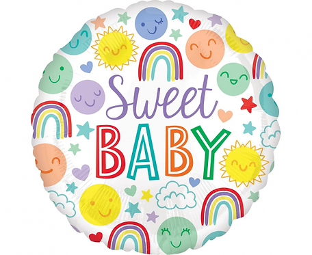 Balon foliowy 18 cali Sweet Baby