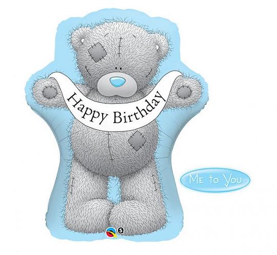 "Balon foliowy 36"" QL SHP ""Me to You – Taddy Teddy Happy Birthday"""