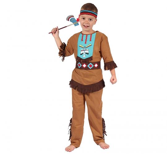 Strój dla dzieci Indianin Lecący Ptak,  rozm. 120/130 c