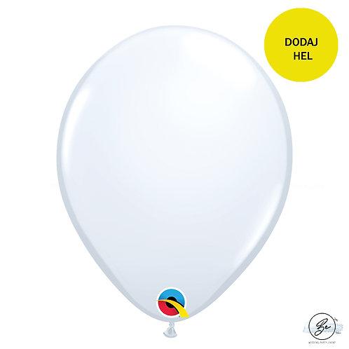 """Balon QL 11"""", pastel biały"""