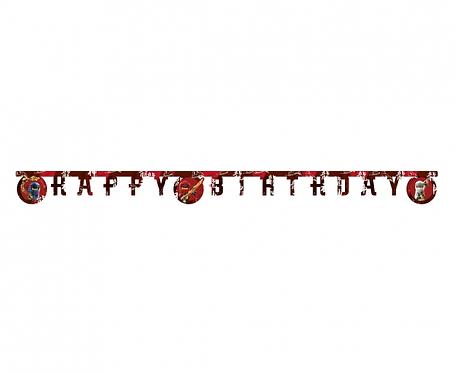 Girlanda Lego Ninjago - Happy birthday
