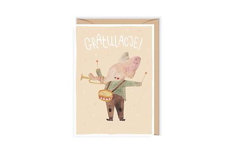 Gratulacje ze słonikiem