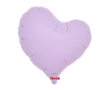"Balon Ibrex Hel, serce Sweet 14"", Pastel Lavender"