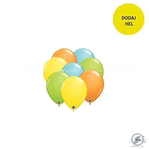 Bukiet balonowy Tropical Party 8 szt