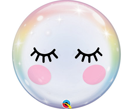 Balon foliowy 22 cale QL Bubble Poj. Rzęsy