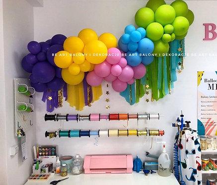 Girlanda balonowa - zestaw DIY