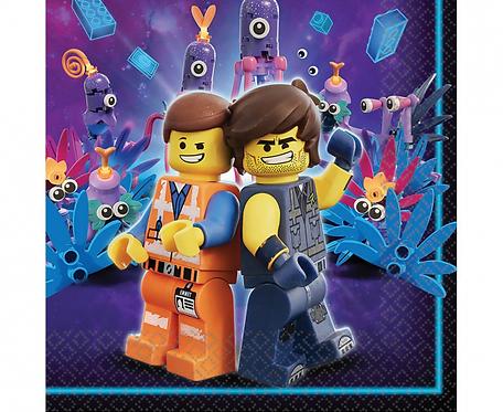 Serwetki papierowe Lego Movie 2, 33x33 cm, 16 szt.