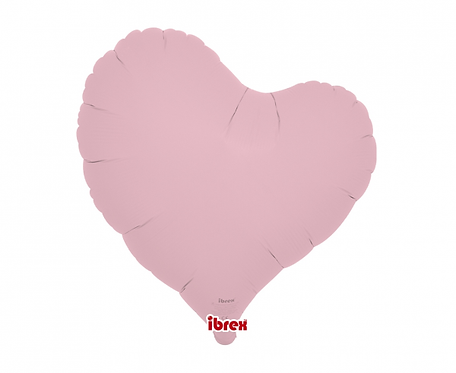 """Balon Ibrex , serce Sweet 14"""", Pastel Pink"""