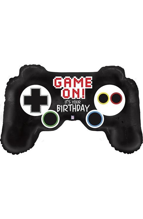 Balon 36'' 91cm Game Controller Birthday