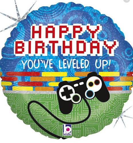 Balon Grabo 18'' 46cm Game Controller Birthday