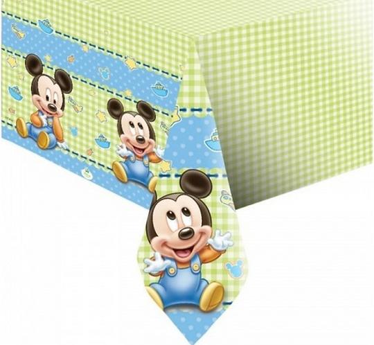 """Obrus plastikowy """"Mickey Baby"""" 120x180 cm"""