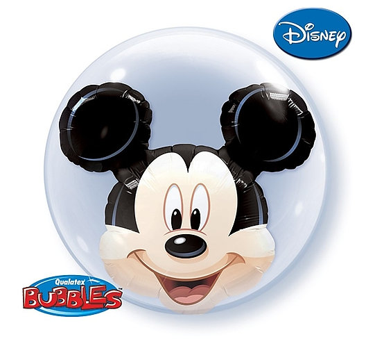 "Balon foliowy 24"" QL Bubble Pod. ""Mickey Mouse"""