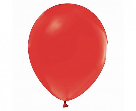 """Balony Beauty&Charm, pastelowe czerwone 12""""/ 50 szt."""