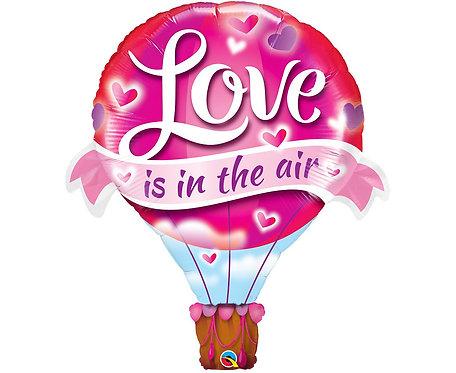 Balon foliowy 42 cale QL SHP LOVE IS IN THE AIR