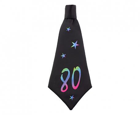 Krawat urodzinowy B&C 80, rozm. 42x18 cm