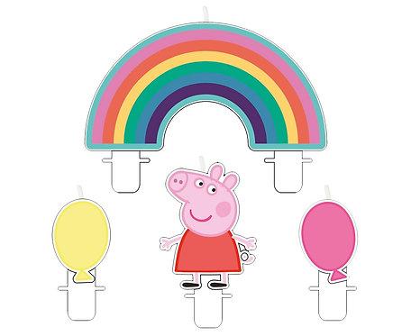 Świeczki Peppa Pig , 4 szt
