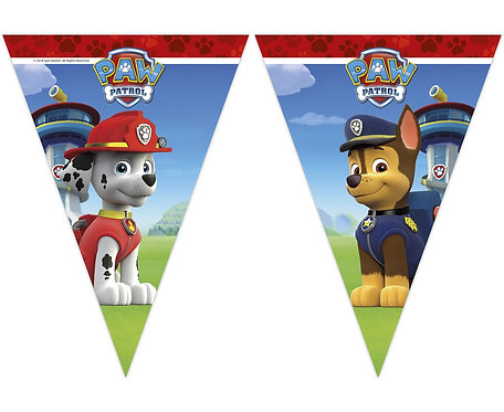 """Banner """"Paw Patrol - Ready For Action"""", flagi"""