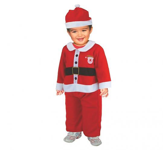 """Strój """"Mikołaj"""" (czapka, bluza, spodnie), 2-3 lata"""