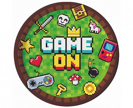 Dekoracje MineCraft, Talerze Minecraft, TNT PARTY