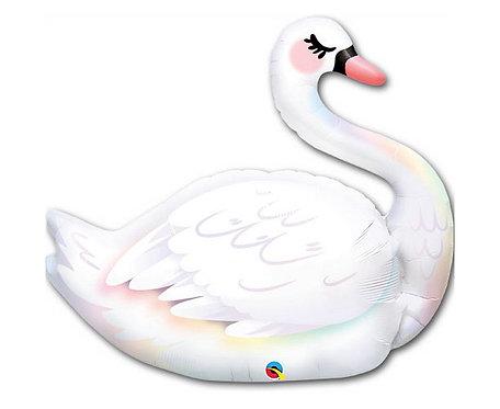 Balon foliowy 37 cali QL SHP Graceful Swan
