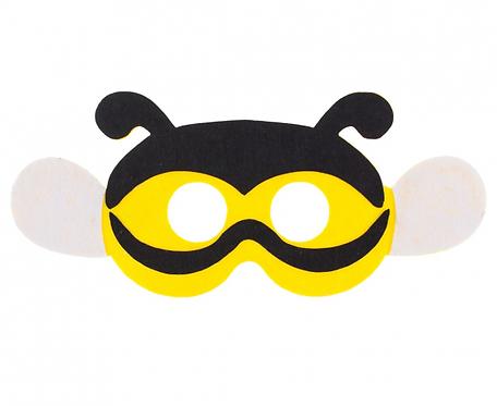 "Maska filcowa ""Pszczółka"", rozm. 25 x 11 cm"