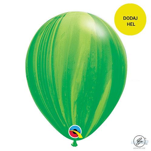 """Balon QL 11"""", pastel agat zielony"""