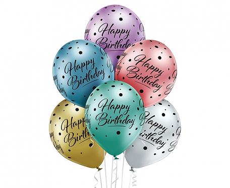 Bukiet Happy Birthday, 6 szt.