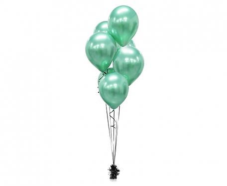 """Balony Beauty&Charm, platynowe zielone 12""""/ 50 szt."""