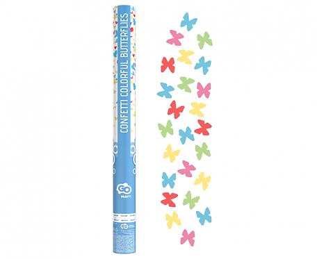 """Konfetti pneumatyczne """"Kolorowe motylki"""" / 60 cm"""
