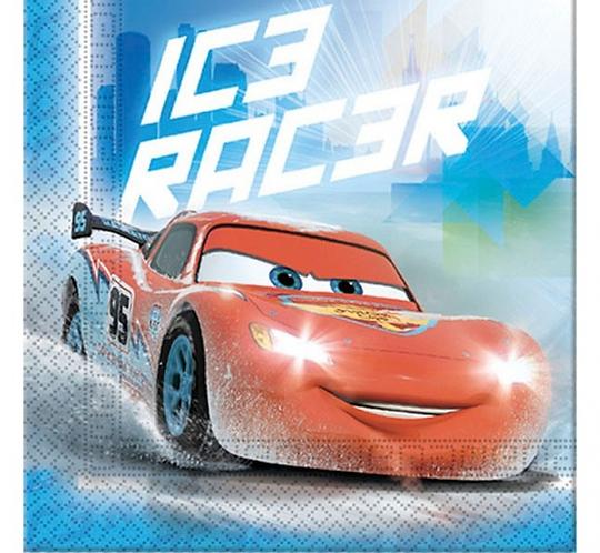 """Serwetki """"Cars Ice"""", 33x33 cm, 20 szt."""
