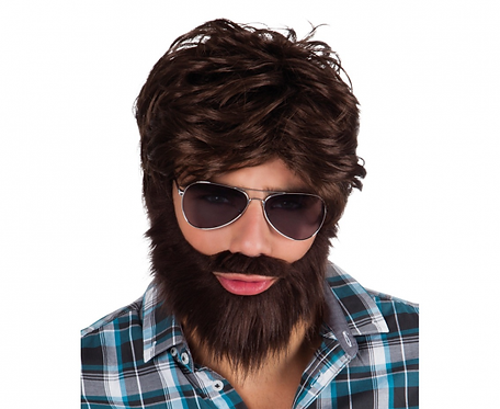 Peruka z brodą