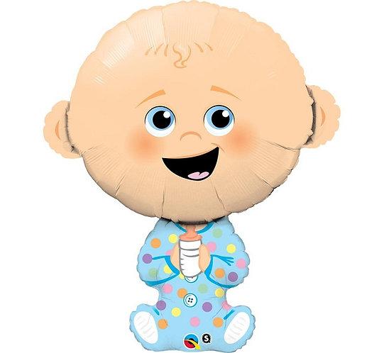 """Balon foliowy 38"""" QL SHP """"Baby Boy"""""""