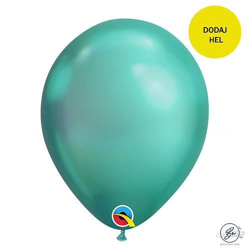 """Balon QL 11"""", chrom zielony"""
