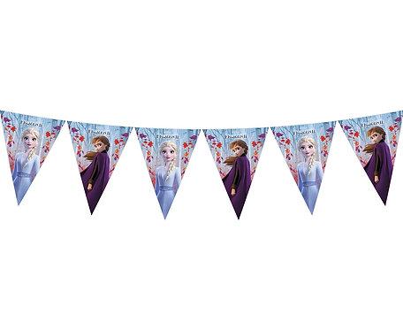 Banner  Frozen 2, 9 flag, 230 cm