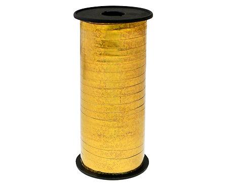 Tasiemka holograficzna złota, 100y (92 m)