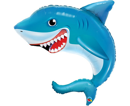 Balon foliowy 36 cali QL SHP - Smiling Shark