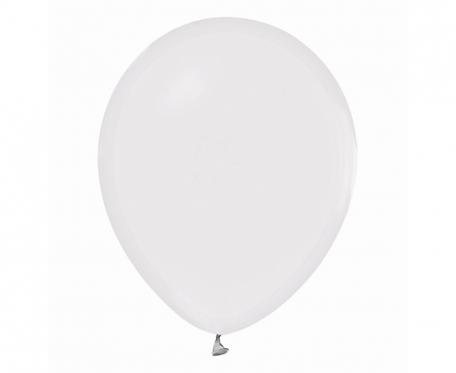 """Balony Beauty&Charm, pastelowe białe 12""""/ 10 szt."""