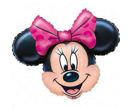 "Balon foliowy 36"" SHP - ""Minnie Mouse Head"""