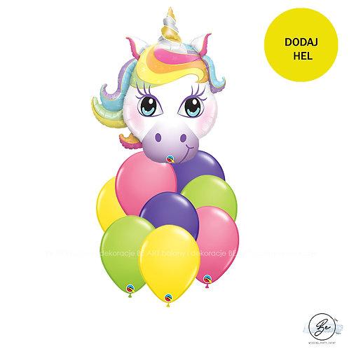 Bukiet balonowy Magical Unicorn 9 szt