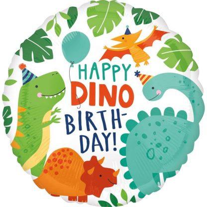 """Balon Anagram 18"""" Dino-Mite Party"""
