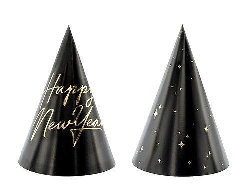 Czapeczki Happy New Year, 16cm