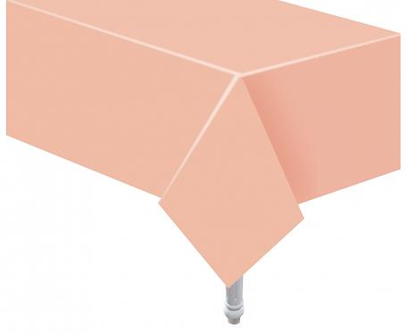 Obrus papierowy jasnoróżowy, 132x183 cm