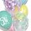 Thumbnail: Balony Serduszka, miętowe transparentne
