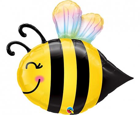 Balon foliowy 38 cali QL Słodka pszczółka