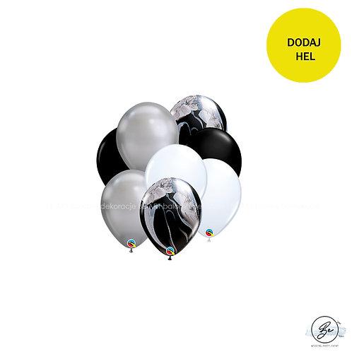 Bukiet balonowy Elegant Black 8 szt