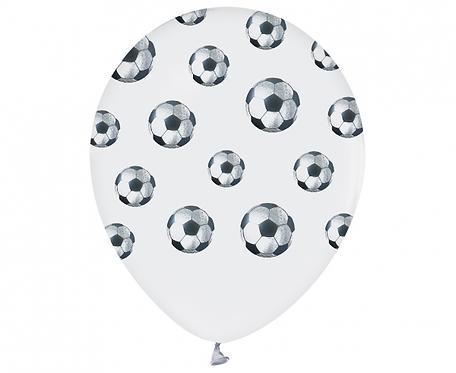"""Balony Piłki Nożne, 12""""/ 5 szt."""