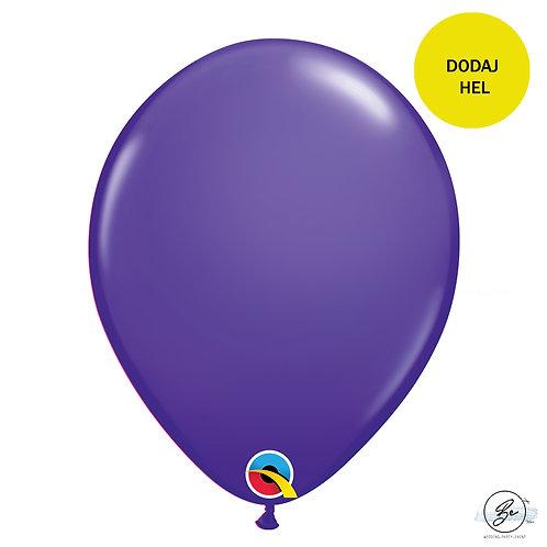 "Balon QL 11"", pastel fioletowy"