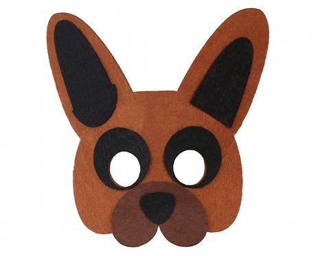Maska filcowa Piesek, rozm. 13 x 14 cm