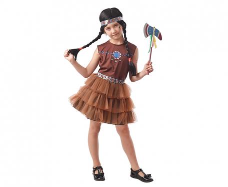 Strój dla dzieci Indianka, rozm. 120/130 cm