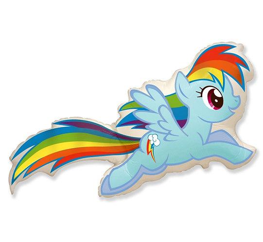 """Balon foliowy 24"""" FX - """"Kucyki: Rainbow Dash"""""""